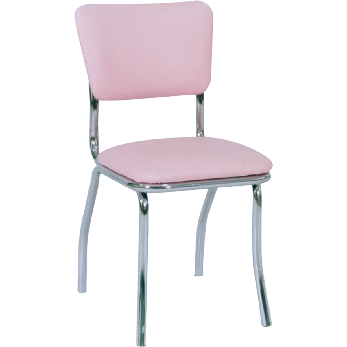 Chairs Metal Retro Upholstered Chrome Chairs