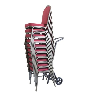 Stacking Chairs with Dolly