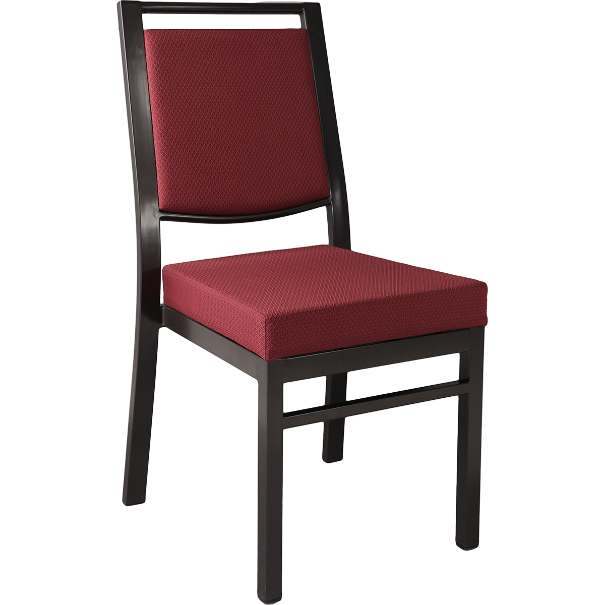 Chairs Metal Stacking Square Back Chair